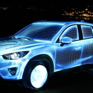Premiere of Mazda CX-5 – 3D Mapping Show